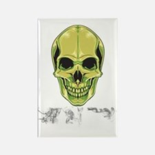 Skull GFS Rectangle Magnet