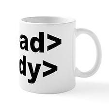 html head body Mug