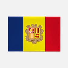 Cute Andorra Rectangle Magnet