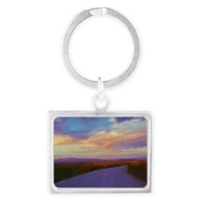 road Landscape Keychain