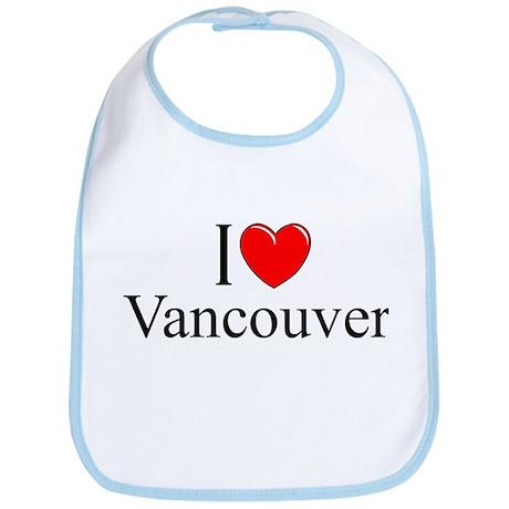 """I Love Vancouver"" Bib"
