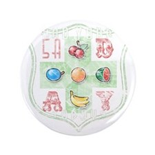 "5 A Day (distressed) 3.5"" Button"