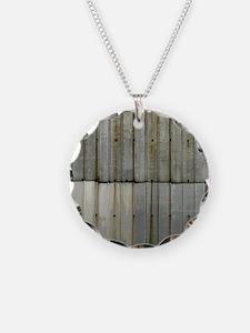 Tin Row Grunge Shower Curtai Necklace