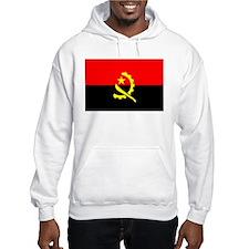 Cute Angola flag Hoodie