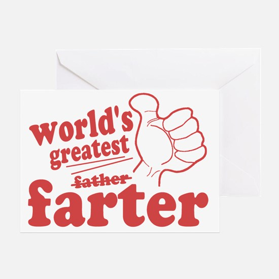 Worlds Greatest Farter Greeting Card