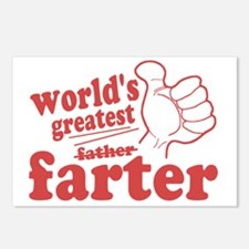 Worlds Greatest Farter Postcards (Package of 8)