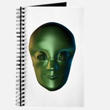 3D Roswell Style Alien Journal