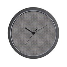 Diamond Metal Plate Industrial Wall Clock