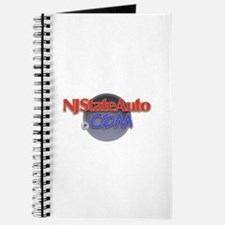 NJ Auto Round Logo Journal