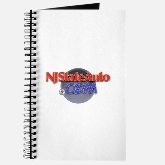 NJ Auto Round Logo Journal