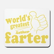 Worlds Greatest Farter Mousepad