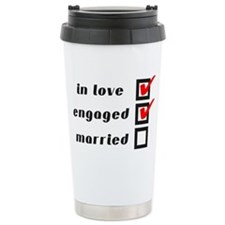 Engaged Travel Mug