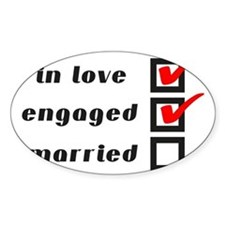 Engaged Decal