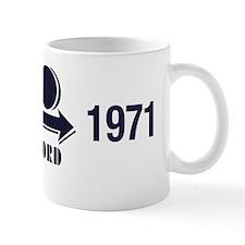 100th Anniversary Logo - Dark Blue with Mug