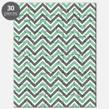 Chevron Stripes Puzzle