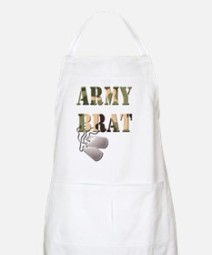 Army Brat  Dog Tags Apron