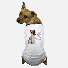 Santa Pug Dog T-Shirt