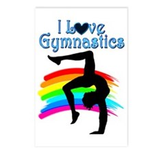AWESOME GYMNAST Postcards (Package of 8)
