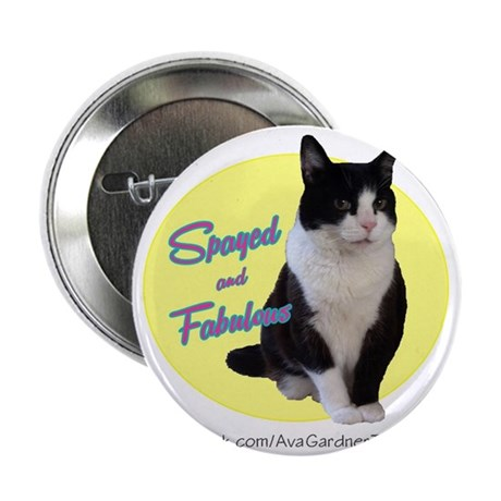 "Spayed Fab 2.25"" Button"