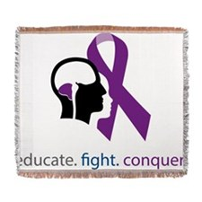 fight-conquer Woven Blanket