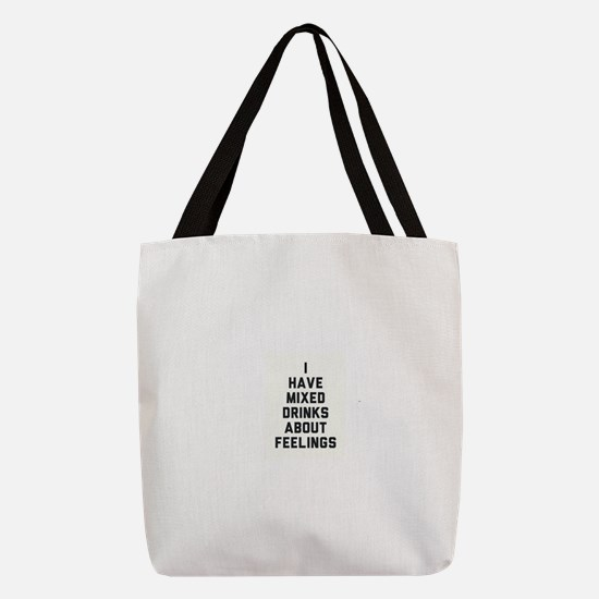 DRINK Mixed feelings Polyester Tote Bag