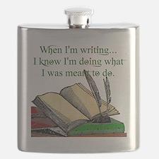When I write Flask
