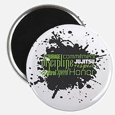 Jujitsu Inspirational Splatter Magnet