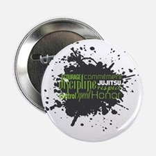 "Jujitsu Inspirational Splatter 2.25"" Button"