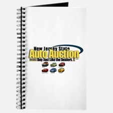 NJ Auto Cars Logo Journal