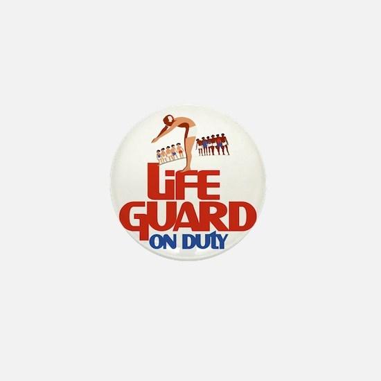 Life Guard Mini Button