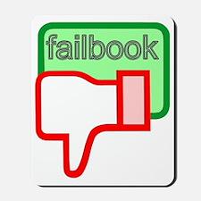 Failbook Mousepad