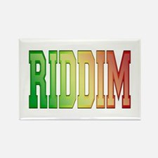 Riddim Rectangle Magnet