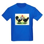Iowa Blue Chickens Kids Dark T-Shirt