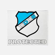 DDOS Throw Blanket