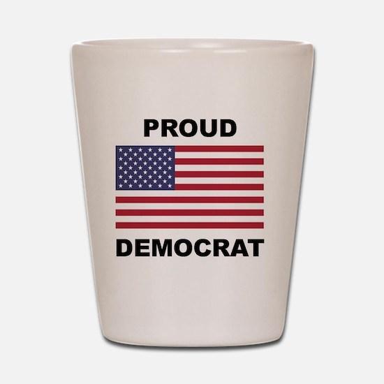 Democrat Pride (Flag) Shot Glass