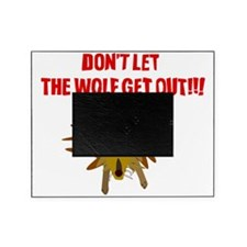 Scrappy Wolf: Don't Let it Out! Picture Frame