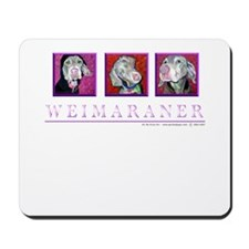 Weimaraner Trio Mousepad