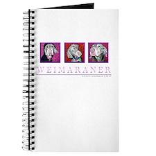 Weimaraner Trio Journal