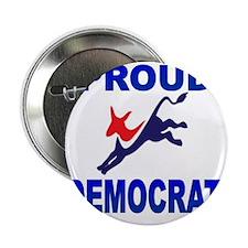 """Democrat Pride (Donkey) 2.25"""" Button"""