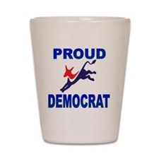 Democrat Pride (Donkey) Shot Glass