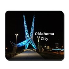 OklahomaCity_5x3rect_sticker_SkyDanceBri Mousepad