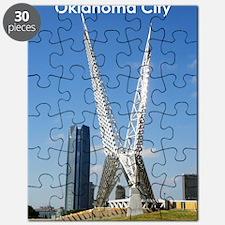 OklahomaCity_5X7_Card_SkyDanceBridge Puzzle