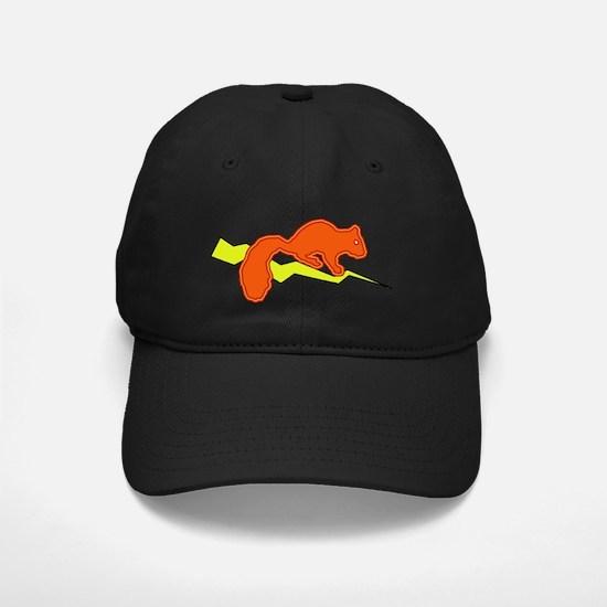 squirrel_lightning Baseball Hat