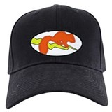 Squirrel Baseball Cap with Patch