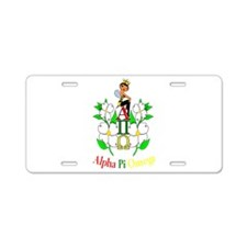 Cute Sorority Aluminum License Plate
