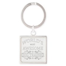 dog trainer Square Keychain