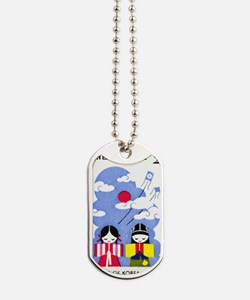 1977 Korea Children And Kites Postage Sta Dog Tags