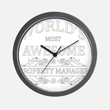 property manager Wall Clock