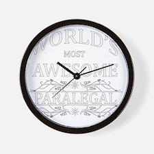 paralegal Wall Clock