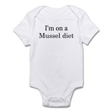 Mussel diet Infant Bodysuit